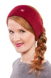 Alpaka Stirnband rot