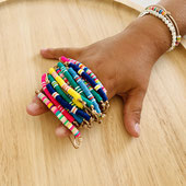 bracelet enfant multicolore