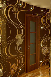 Роспись квартиры в японском стиле