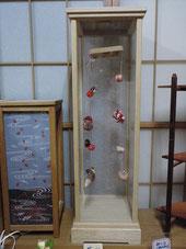 木工品:吊り雛ケース
