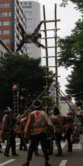 加賀鳶はしご登り