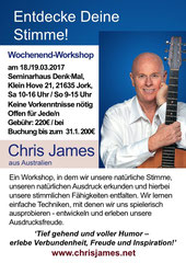 Chris James Chris Krämer Drums Wochenendworkshop Jork