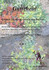 JK-Gartengestaltung Würzburg