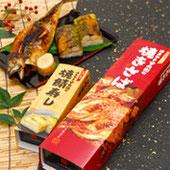 焼き鯖と焼鯖寿司セット