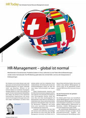 HR-Management - global ist normal