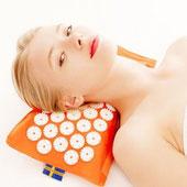 cuscino riscaldabile chiodato agopressione termoterapia mysa magnetoterapia