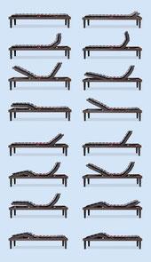 rete a doghe motorizzata manifattura falomo legno faggio