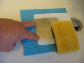 Kit lavaggio per elettrodi