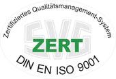 Zertifikat DIN EN ISO 9001