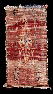 Vintage Boujad Rug, Morocco. Handgewebter Teppich, Kelim aus Marokko. Tapis antique Zurich. Teppich Laden in Zürich.
