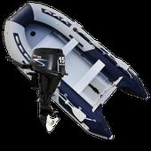 Schlauchboot mit 15 PS Motor