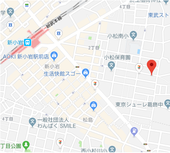 新小岩三栄美術印刷map