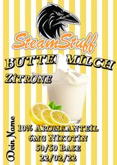 Buttermilch, Zitronenmilch, Buttermilch-Zitrone, Zitrone und Milch, fruchtmilch