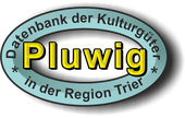 """Externer link zu """"Pluwig"""" in der Datenbank der Kulturgüter in der Region Trier"""