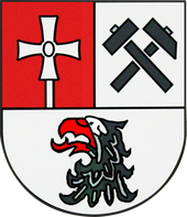 "Bei ""Mausklick"" gelangen Sie zur Wappenbeschreibung!   Bildquelle: http://commons.wikimedia.org/wiki/File%3AWappen_pluwig.png."