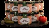 Käsebierwurst, Metzgerei Weinbuch, Öpfingen, Online Shop, Schwarzwurst, Blutwurst, Original Öpfinger Schwarzwurst, Wurstprodukte, Wurstkonserven, Wurst im Glas, Wurstgläschen