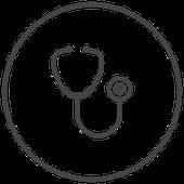 Symbol Stethoskop