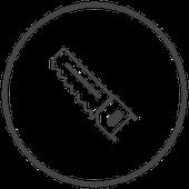Symbol Säge