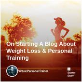 Entrenador Personal Virtual destacado en Starter Story