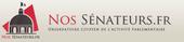 Lien vers le site internet www.nossenateurs.fr