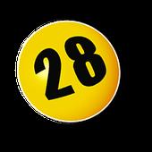 Lottozahl 28
