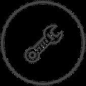 Symbol Schraubenschlüssel