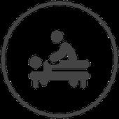 Symbol Wirbelsäulentherapie