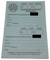 Volkssportabzeichen Ö - 10