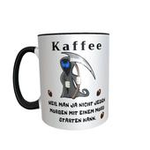 Tasse Kaffee Tod