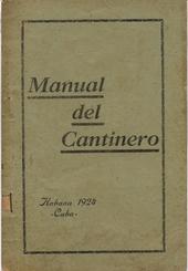 Manual del Cantinero 1924