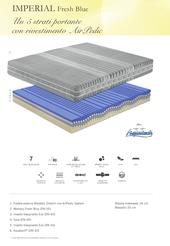 materassi ferrara resina memory fresh blue soiabio EOS manifattura falomo sfoderabile ipoallergenico anallergico