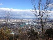 山頂少し前からの眺め