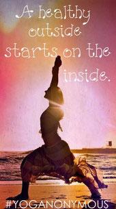 外側の健康は、内側から始まる