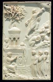 Ascension de Jésus (ivoire, env. 400 ap. JC)