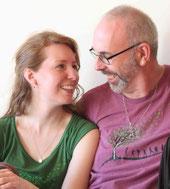 Kai-Uwe vom Hofe und Sarah Michalke