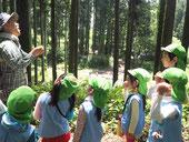 森の保育園で赤城山へ 園外保育の様子(年長)