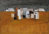 Claude Delessert, peintre vaudois, le village rouge, exposition tableaux, galerie, neuffer antiquites, galerie neuffer Lausanne,R.-Th. Bosshard.André Delessert. Charles PARISOD François BOCION, Alice BAILLY, Charles CHINET, Abraham HERMENJAT, Milous BONNY