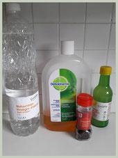 Benodigdheden voor het aanmaken van een anti vliegenspray