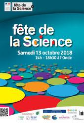 Fête de la science 2018 à Vélizy.