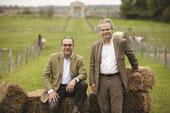 Xavier et Dominique Laureau, propriétaires de la ferme de Gally.