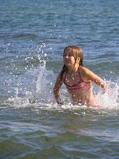 Schwimmen in der Ostsee