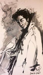 Hamida Sager, Uomo con fucile