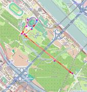 Alfreds Lauf mit 200-m-Zielsprint (Bolt feeling!)
