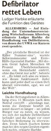 Artikel: Roth - Hilpoltsteiner Volkszeitung 29.06.2013