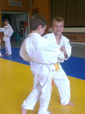 A. Herrenknecht im Training