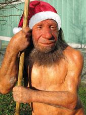 Selbst der Neandertaler feiert mit