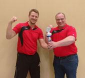 Jörg und Michael sind stolz auf die Leistungen ihrer Schützlinge