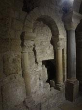 Crypte mérovingienne à Saint-Denis (Source : Laure Trannoy)