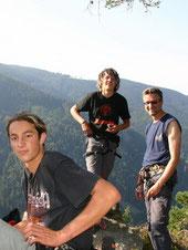 Scheibenfelsen Zastler 2004