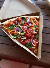 Vegane Pizza von Whole Foods